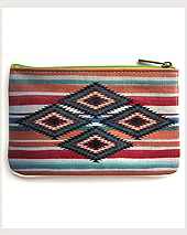 Coin Purse Mexican Triangle