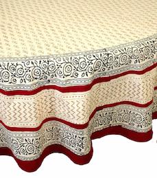 "Table Cloth  Bagru Buti 60""x60''"
