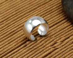 Silver Ear Cuff