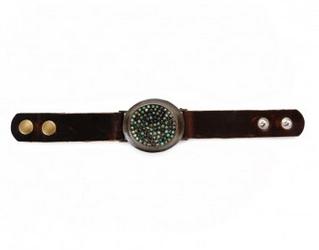 Dimensional Oval Bracelet