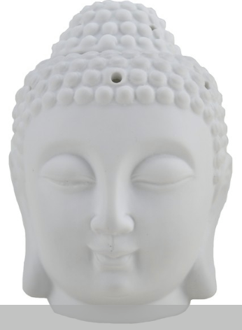 Translucent Porcelain Incense and Candle Holder - Buddha