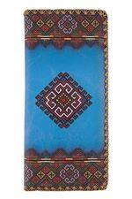 Valeria Ukrainian Print vegan Leather Wallet