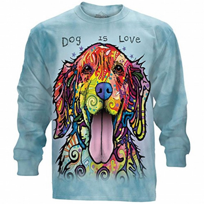 Dog Is Love Long Sleeve tshirt