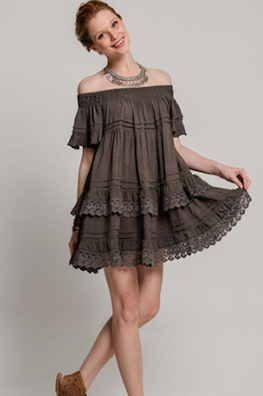 Esmeralda Grey Dress
