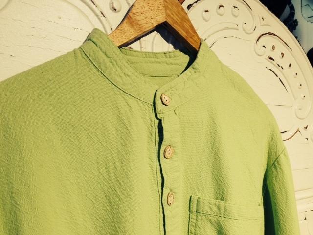 Mandarin Collar Shirt in Margarita