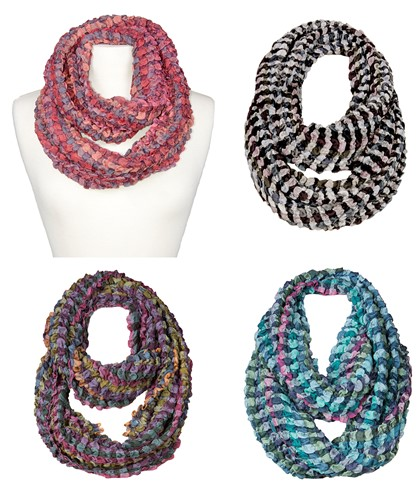 Puff Infinity Scarf