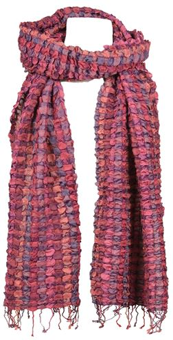 Puff Scarf Pink