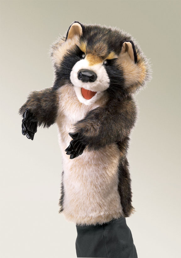 Raccoon Stage Puppet