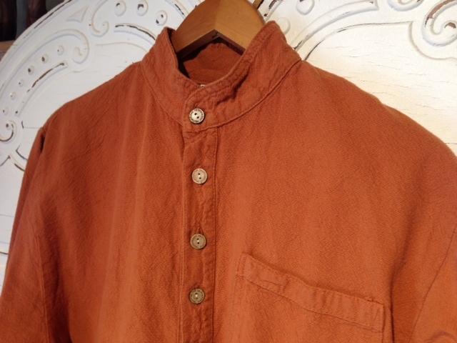 Mandarin Collar Shirt in Sierra