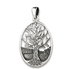Silver Tree of Life Pendent
