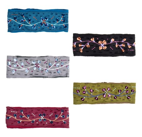 Velvet Bud Headbands